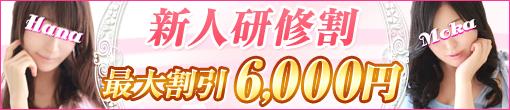◆【新人研修割り★最大6,000円割引】◆